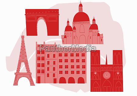 monumenti storici di parigi