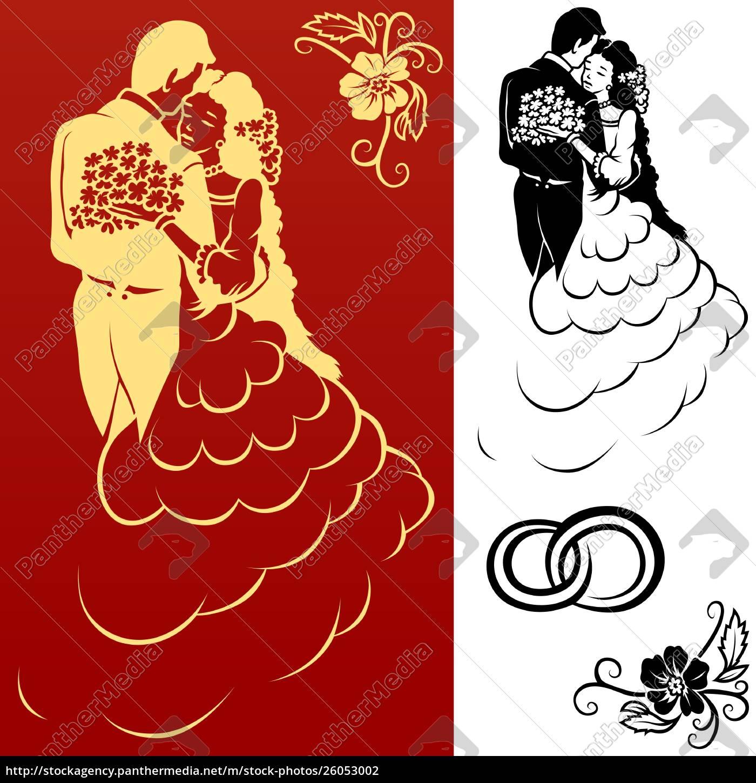 elementi, di, design, del, matrimonio - 26053002