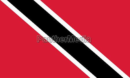 bandiera nazionale di trinidad e tobago
