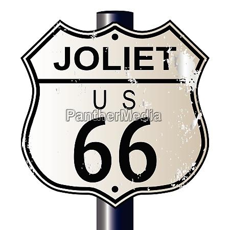 joliet route 66 sign