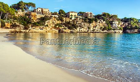 sulla spiaggia di porto cristo maiorca