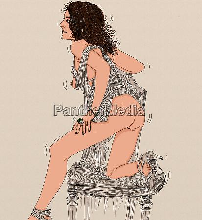 donna erotica linea raffinata e