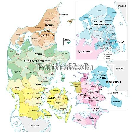 mappa vettoriale amministrativa e politica del