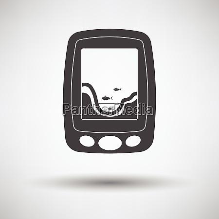 icona di eco sounder icona