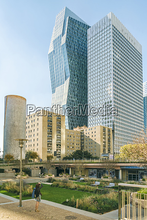 modern architecture at la defense district