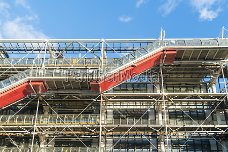 view of building exterior of pompidou