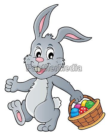 tema del coniglio pasquale 5