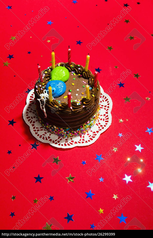 torta, di, compleanno, al, cioccolato, natura - 26299399
