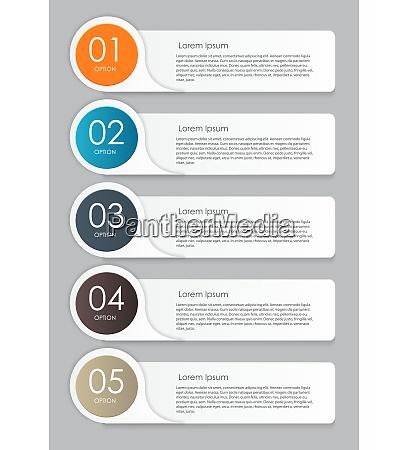 elementi di progettazione infografici per lillustrazione
