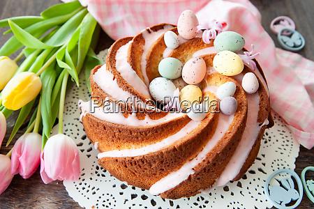 torta di bundt yummy con glassa