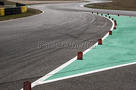 curva in pista