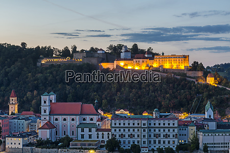 germany bavaria passau fortress oberhaus in