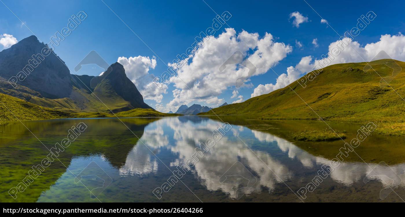 germany, , bavaria, , allgaeu, , allgaeu, alps, , lake - 26404266