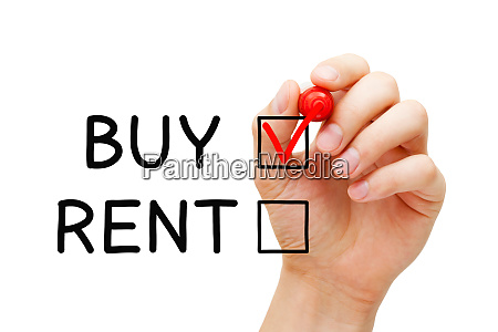 choosing to buy not to rent