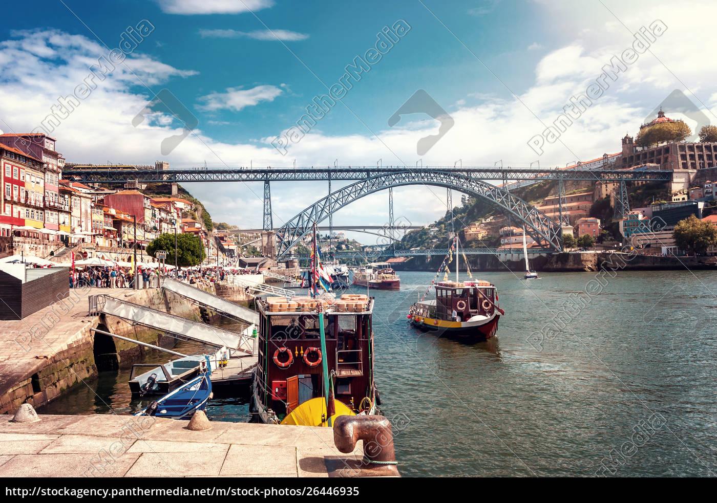 the, iron, bridge, ponte, dom, luís - 26446935