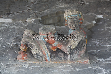 chac mool sculpture dating from approximately