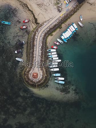 indonesia bali aerial view of benoa