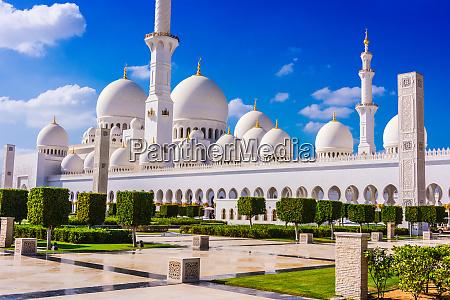 grande moschea dello sceicco di abu