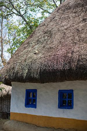 casa tradizionale in legno rumeno
