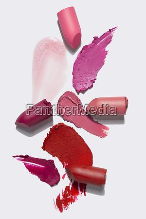 concetto creativo foto di cosmetici campioni