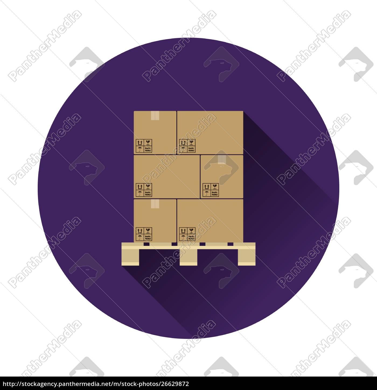 icona, della, scatola, del, pacchetto, di - 26629872