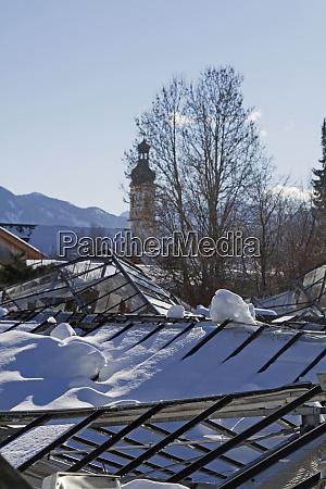 distruzione nel disastro inverno 2019