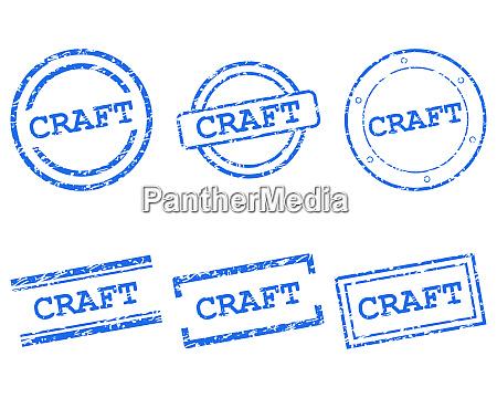 francobolli artigianali