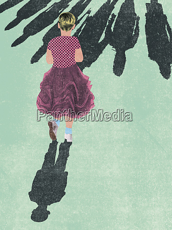 giovane ragazzo indossa vestito della ragazza