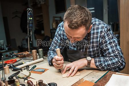 concetto di produzione artigianale artigianale di