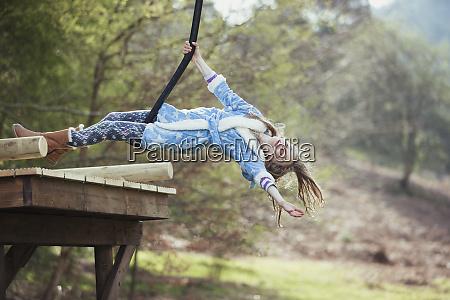 divertimento, su, un, swing, scimmia - 26901381