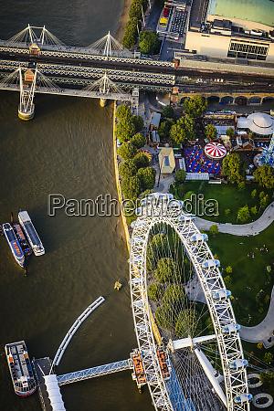 veduta aerea del paesaggio urbano e