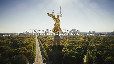drone point of view victory column