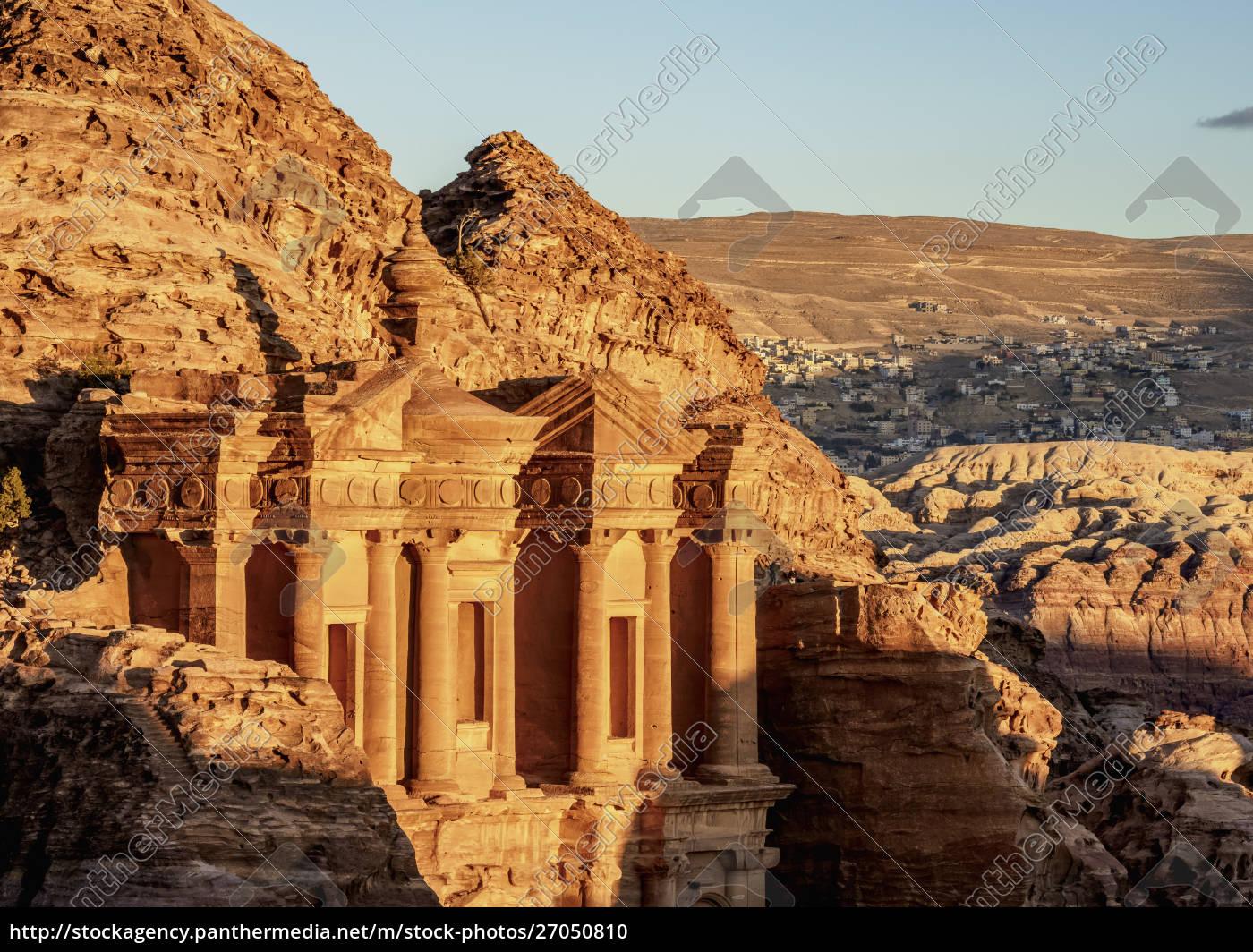 the, monastery, (ad-deir), , petra, , unesco, world - 27050810