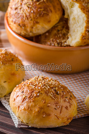homemade cheese buns
