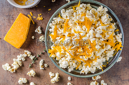 homemade cheese popcorn