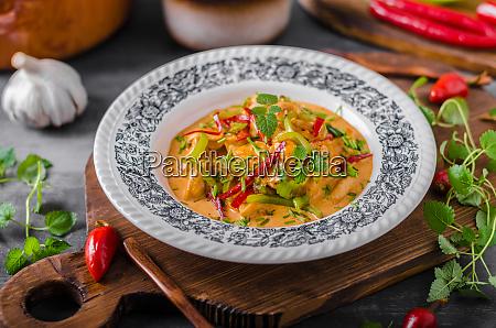 chicken curry delish food