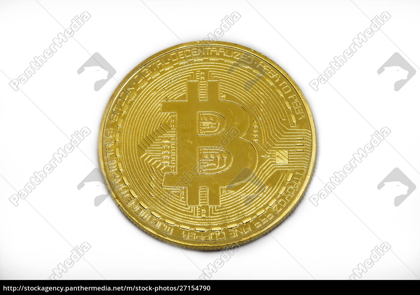 bitcoin, , crypto, currency, isolated, on, white - 27154790