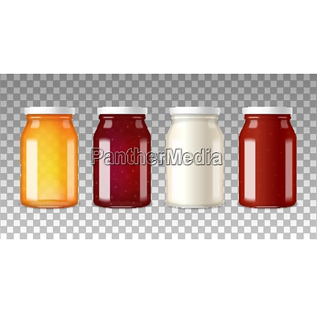 colorful wide neck glass bottles with