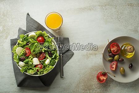 pasto di insalata