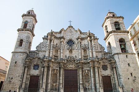 cuba havana plaza de la catedral