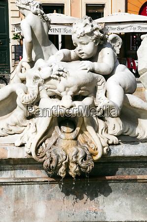 fountain of neptune piazza navona rome