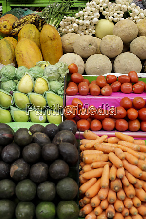 fruit and vegetables for sale at