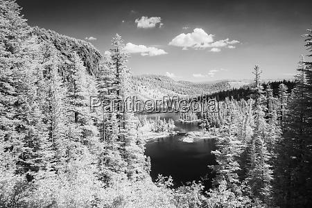 stati uniti california laghi mammut panoramica
