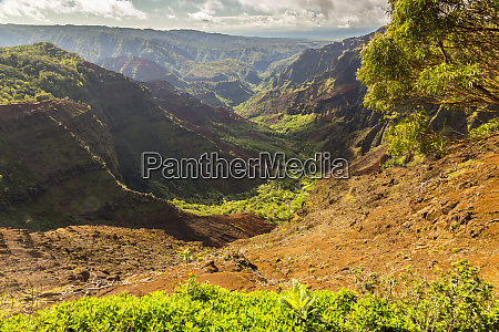 stati uniti hawaii kauai paesaggio di
