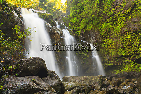 waikani falls hana highway near hana