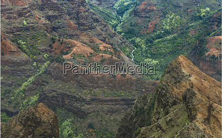 waimea canyon kauai hawaii usa