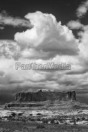 usa utah black and white image