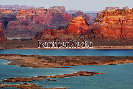 usa utah glen canyon national recreation