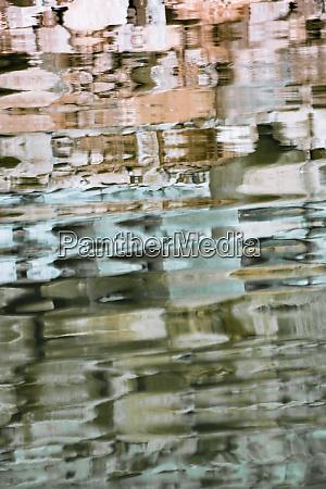 usa utah colorful abstract reflections of