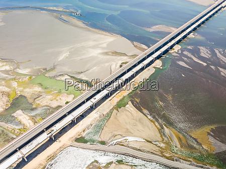 veduta aerea del ponte di puente